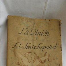 Libros antiguos: LA UNION Y EL FENIX ESPAÑOL AÑO 1944. Lote 28196670