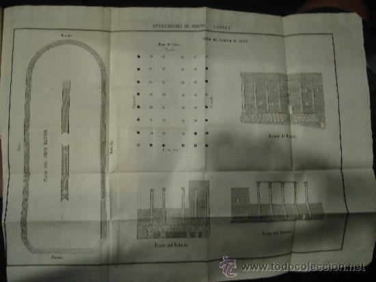 Libros antiguos: HISTORIA DE MERIDA 119 PAG Y 4 LAMINAS DESPLEGABLES.HISTORIA DE GIBRALTAR 216 PAGINAS. . - Foto 4 - 28217490