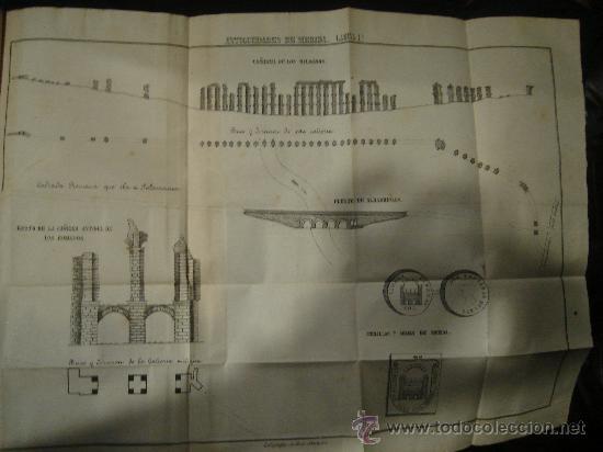 Libros antiguos: HISTORIA DE MERIDA 119 PAG Y 4 LAMINAS DESPLEGABLES.HISTORIA DE GIBRALTAR 216 PAGINAS. . - Foto 3 - 28217490