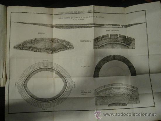 Libros antiguos: HISTORIA DE MERIDA 119 PAG Y 4 LAMINAS DESPLEGABLES.HISTORIA DE GIBRALTAR 216 PAGINAS. . - Foto 2 - 28217490