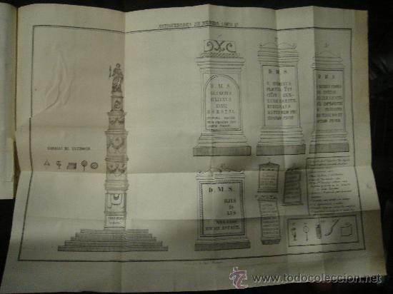 Libros antiguos: HISTORIA DE MERIDA 119 PAG Y 4 LAMINAS DESPLEGABLES.HISTORIA DE GIBRALTAR 216 PAGINAS. . - Foto 8 - 28217490