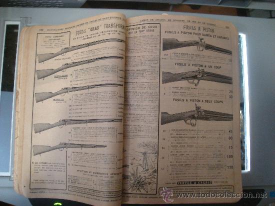 Libros antiguos: MANUFACTURE FRANÇAISE D´ARMES ET CYCLES. SAINT- ETIENNE. 1914. CATALOGO DE CICLOS DE LAS ARMAS - Foto 27 - 28150237