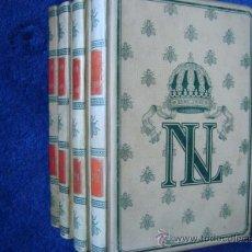 Libros antiguos: NAPOLEÓN III: OBRA EN CUATRO VOLÚMENES.MONTANER SIMON.GRABADOS.SAINT-AMAND,IMBERT DE. Lote 28243744