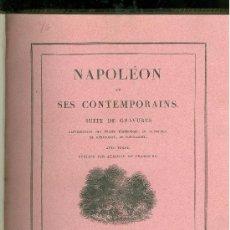Libros antiguos: NAPOLEON ET SES CONTEMPORAINS. 1824. DOS TOMOS. PARIS. . Lote 28267839