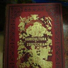 Libros antiguos: AGRICULTURA Y ZOOTECNIA. RIBERA. 4 TOMOS + LAMINAS. NACENTE, EDITOR. .. Lote 28285873