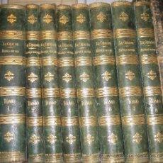 Libros antiguos: LA CREACIÓN - HISTORIA NATURAL - 8 TOMOS (1875) ABUNDANTES GRABADOS Y LÁMINAS -LUJOSA ENCUADERNACIÓN. Lote 28308747