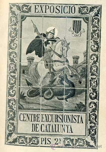 Libros antiguos: RECORD DE LA EXPOSICIÓ DE DOCUMENTS GRÁFICHS DE COSES DESAPAREGUDES EN BARCELONA AL SEGLE XIX (1901) - Foto 5 - 28314424