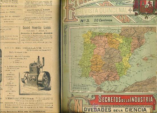Libros antiguos: EL MUNDO CIENTÍFICO - 194 NÚMEROS AÑOS 1899 A 1903 - CUATRO TOMOS - Foto 2 - 28341841