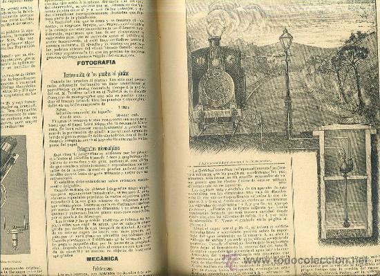 Libros antiguos: EL MUNDO CIENTÍFICO - 194 NÚMEROS AÑOS 1899 A 1903 - CUATRO TOMOS - Foto 3 - 28341841