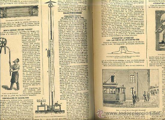 Libros antiguos: EL MUNDO CIENTÍFICO - 194 NÚMEROS AÑOS 1899 A 1903 - CUATRO TOMOS - Foto 5 - 28341841