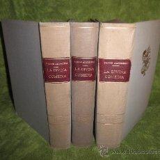 Libros antiguos: LA DIVINA COMEDIA - DANTE ALIGHIERI - TRADUCCIO I COMENTARIS DE JOSEP MARIA DE SAGARRA.. Lote 98763070