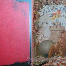 Libros antiguos: LOS HÉROES ESPAÑOLES DEL SIGLO XIX (TOMO 2). J. CONDE DE SALAZAR Y SOULERET. MARIANO NÚÑEZ SAMPER. Lote 28425870