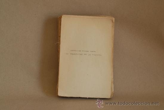 Libros antiguos: Pio Baroja. Las Veleidades de la Fortuna. Caro Rggio, Madrid. - Foto 2 - 28532764
