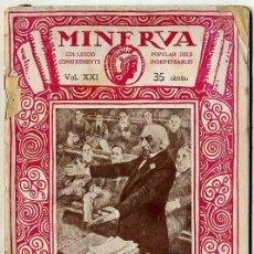Libros antiguos: MANUEL RAVENTÓS : LA POLÍTICA CONTEMPORÀNIA (MINERVA, 1920) - EN CATALÁN. Lote 127891379