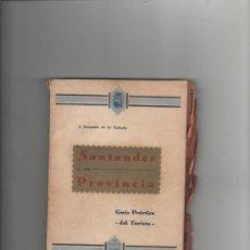 Alte Bücher - j. fresnedo de la calzada santander y su provincia guia practica del turista santander 1933 - 28489919