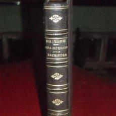 Libros antiguos: VIDA INTERIOR D' UN ESCRIPTOR POR JOAN PUIG I FERRETER. Lote 28507662