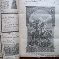 Libros antiguos: LA LECTURA DOMINICAL 1901 - 832 PAGINAS - 33 X 25 CMS.. Lote 28516229