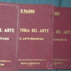Libros antiguos: HISTORIA DEL ARTE (4 VOLUMENES: 1924- 1928). Lote 28380745
