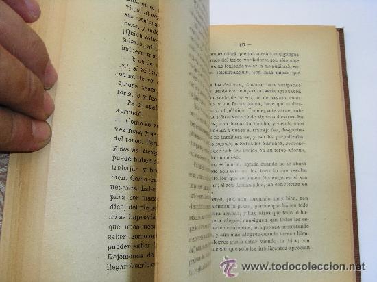 Libros antiguos: Las corridas de toros en la actualidad . El Bachiller Garrocha . 1914 - Foto 5 - 28579817