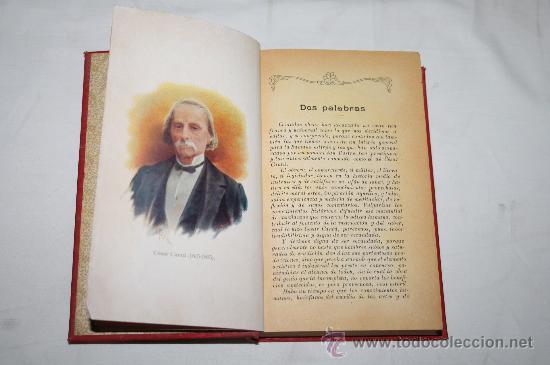 Libros antiguos: 0232- 'HISTORIA UNIVERSAL' POR CÉSAR CANTÚ - 8 TOMOS (INCOMPLETA) - GASSÓ HNOS. EDITORES - Foto 4 - 28575622