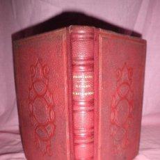 Libros antiguos: GALERIA DE MATRIMONIOS - CARLOS FRONTAURA - AÑO 1868 - LUJOSA ENCUADERNACION EN PIEL.. Lote 28604087