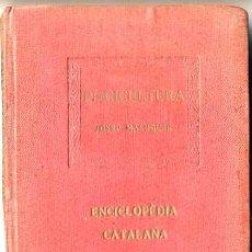 Libros antiguos: J. MALUQUER . PISCICULTURA - ENCICLOPÉDIA CATALANA, 1919. Lote 113974428