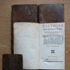 Libros antiguos: HISTOIRE DES RÉVOLUTIONS D'ESPAGNE. DUPIN (LOUIS-E.). Lote 28669977