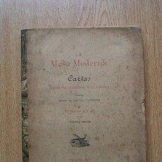 Libros antiguos: LA MESA MODERNA. THEBUSSEM (DOCTOR). Lote 28676338