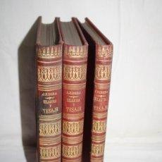 Libros antiguos: 1354-'HILADURA Y TISAJE' TRATADO TEÓRICO PRACTICÓ DE HILADOS POR D. JOAQUIN RIBERA 3 TOMOS 1891. Lote 28681820