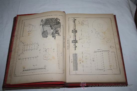 Libros antiguos: 1354-'HILADURA Y TISAJE' TRATADO TEÓRICO PRACTICÓ DE HILADOS POR D. JOAQUIN RIBERA 3 TOMOS 1891 - Foto 6 - 28681820