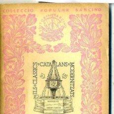 Libros antiguos: BERNAT DESCLOT : LA CROADA CONTRA CATALUNYA (1935) - COL. BARCINO. EN CATALÁN. Lote 28763335