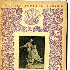 Libros antiguos: A. DE MUSSET : LES NITS I ALTRES POEMES (1936) - COLECCIÓN BARCINO. EN CATALÁN. Lote 42109200