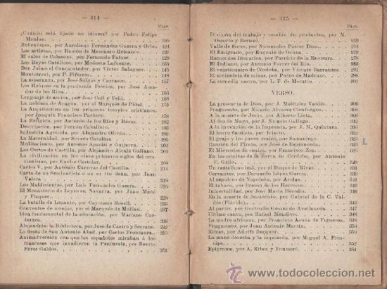 Libros antiguos: cayetano vidal de valenciano elocuencia y poesias castellanas barcelona 1898 - Foto 3 - 28790361