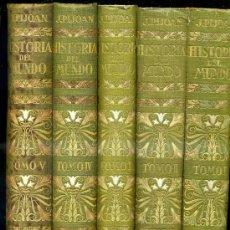 Libros antiguos: PIJOAN : HISTORIA DEL MUNDO - CINCO TOMOS (1926). Lote 28849772