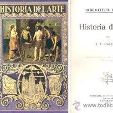 Libros antiguos: HISTORIA DEL ARTE – AÑO 1936. Lote 28863436