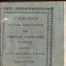 Libros antiguos: COLECCION DE TRATADOS BREVES Y METODICOS DE CIENCIA, LITERATURA Y ARTE. HERALDICA, SEVILLA 1851. Lote 28886286
