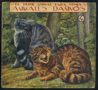 EL REINO ANIMAL PARA NIÑOS. ANIMALES DAÑINOS Nº 4 A-CUENTO-420 (Libros Antiguos, Raros y Curiosos - Literatura Infantil y Juvenil - Otros)