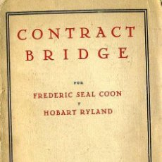 Libros antiguos: CONTRACT BRIDGE (1935) EN CASTELLANO. Lote 28892370