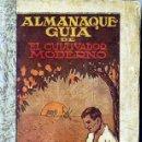 Libros antiguos: ALMANAQUE GUÍA DE EL CULTIVADOR MODERNO (1928) MUY ILUSTRADO. Lote 28893171
