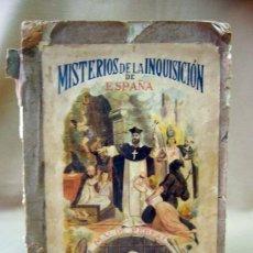 Alte Bücher - LIBRO, MISTERIOS DE LA INQUISICION, DE ESPAÑA, TOMO I, JUAN ANTONIO LLORENTE, 1870 - 28920745