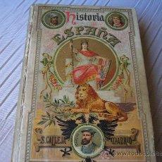 Libros antiguos: HISTORIA DE ESPAÑA, FERNÁNDEZ SANTOS.- SATURNINO CALLEJA, 1915. Lote 28945903