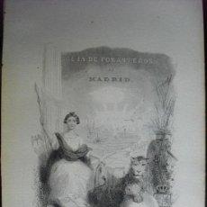 Libros antiguos: GUIA DE FORASTEROS DE MADRID PARA EL AÑO DE 1869. Lote 28966267