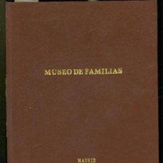 Libros antiguos: MUSEO DE LAS FAMILIAS, MADRID, 1847, DIRECTOR Y EDITOR FRANCISCO DE PAULA MELLADO. Lote 29014794
