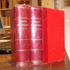 Libros antiguos: MARTÍN EL EXPÓSITO. OBRA COMPLETA. DOS TOMOS. EUGENIO SUÉ.. Lote 29052616