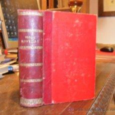 Libros antiguos: LA EVANGELISTA. LA CHARCA DEL DIABLO. LA MAJA DESNUDA. ALFONSO DAUDET. JORGE SAND. BLASCO IBAÑEZ. Lote 29052661