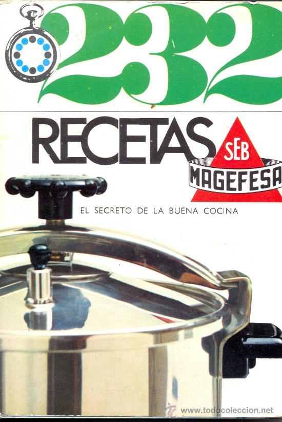 LIBRO DE RECETAS MAGEFESA (Libros Antiguos, Raros y Curiosos - Cocina y Gastronomía)