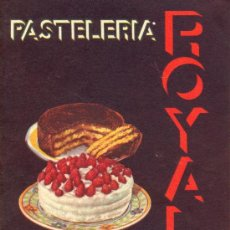 Libros antiguos: LIBRO DE RECETAS PASTELERIA ROYAL. Lote 29155806