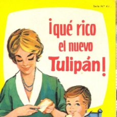 Libros antiguos: LIBRO RECETAS TULIPAN. Lote 29155875
