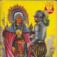 Libros antiguos: LIBRO JUVENIL COLECCION AMENUS HERNAN CORTES CON ILUSTRACIONES DE TOMAS PORTO. Lote 29237399
