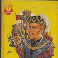 Libros antiguos: LIBRO JUVENIL COLECCION AMENUS CARLOS V CON ILUSTRACIONES DE TOMAS PORTO. Lote 29237436